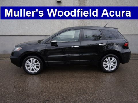 Certified Used Acura RDX SH-AWD w/Tech