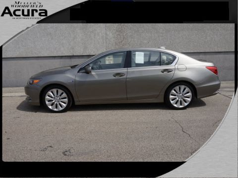 Certified Used Acura RLX SH-AWD Sport Hybrid w/Advance