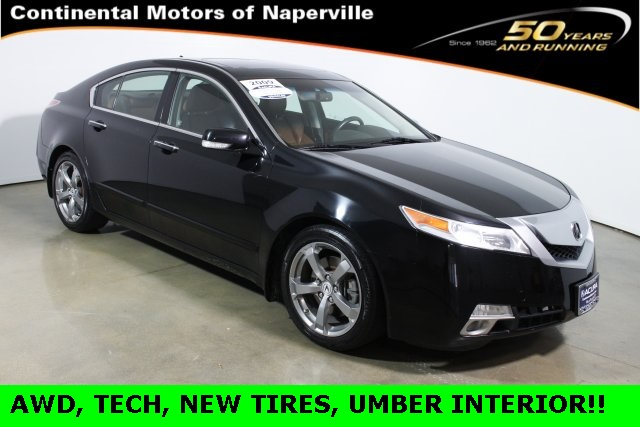 Certified Used Acura TL SH-AWD