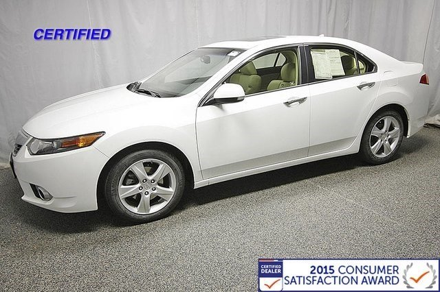 Certified Used Acura TSX