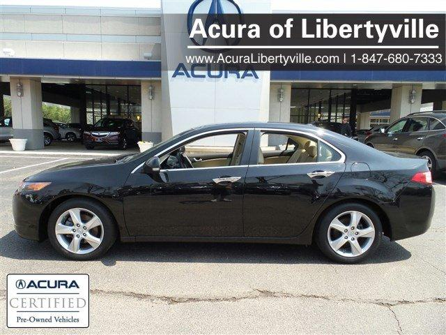 Certified Used Acura TSX 4dr Sdn I4 Auto